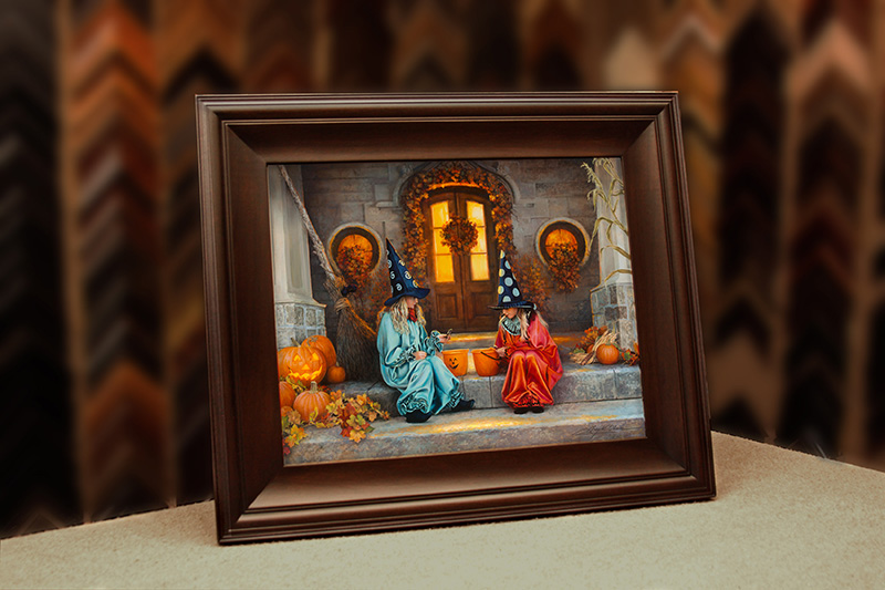 Framed Halloween Sweets