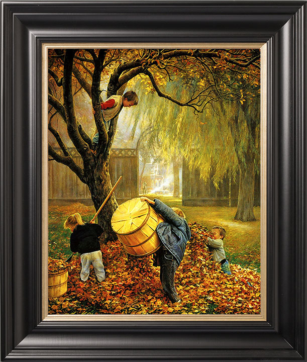 Fall Leaves – 20×25 Limited Edition Canvas (550 S/N) Framed