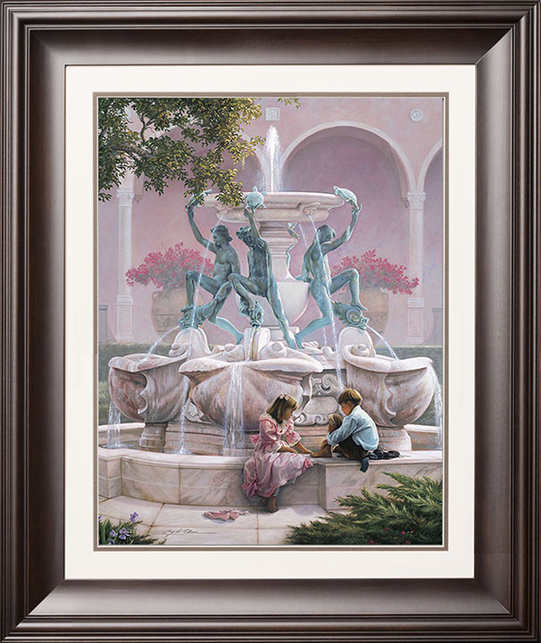 Fountains of My Youth – 20×25 Limited Edition Paper (2500 S/N) Framed