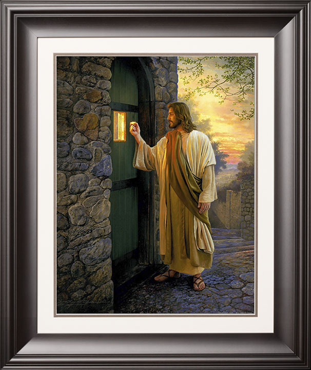 Let Him In 23 30 Limited Edition Paper 950 S N Framed