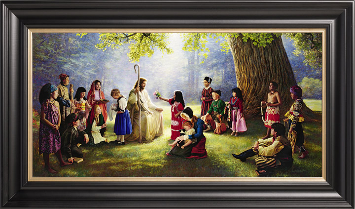 Children of the World – 19×39 Limited Edition Canvas (950 S/N)