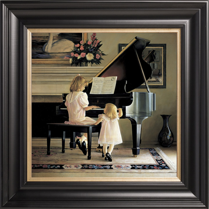 Dress Rehearsal – 28×28 Limited Edition Canvas (550 S/N)