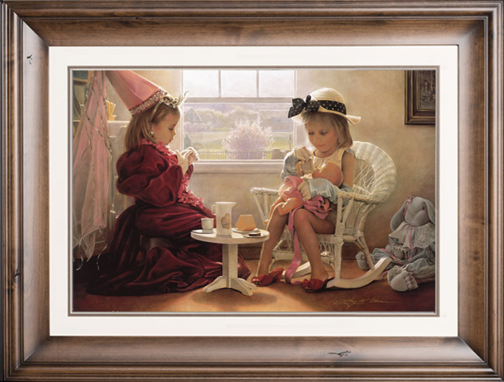 Formal Luncheon – 18×27 Limited Edition Paper (1000 S/N) Framed