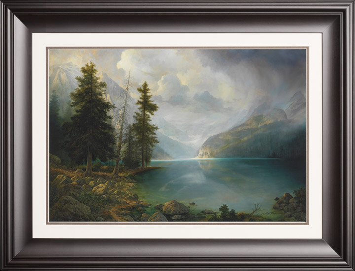 Mountain Grandeur - 20x30 Limited Edition Paper (950 S/N) Framed ...