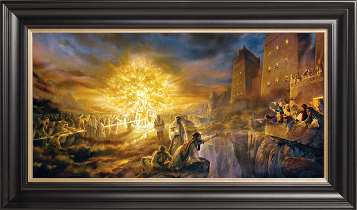 The Tree Of Life 18x36 Limited Edition Canvas 750 Sn Framed