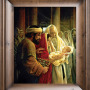 A light to the gentiles, Greg Olsen, jesus, christian art, jesus art, baby jesus, simeon, christian artwork, fine art, prints, canvas prints, jesus, mary, mother mary, catholic art, jesus temple, greg olsen, greg olsen art, greg olsen light to the gentiles, joseph and mary, joseph, mary in a red robe, christ child, Greg Olsen, Christian art, Framed religious art, Prints, Lithographs, Canvas, Giclee, Canvas wrap, Christian canvas prints, Christian framed art, Jesus artwork, Jesus prints, Savior, Lord, Redeemer, Christ, Jesus Christ, Son of God, religious art, christian artist, Mary, Mother Mary, Joseph, Simeon, Christ child, baby jesus, temple,