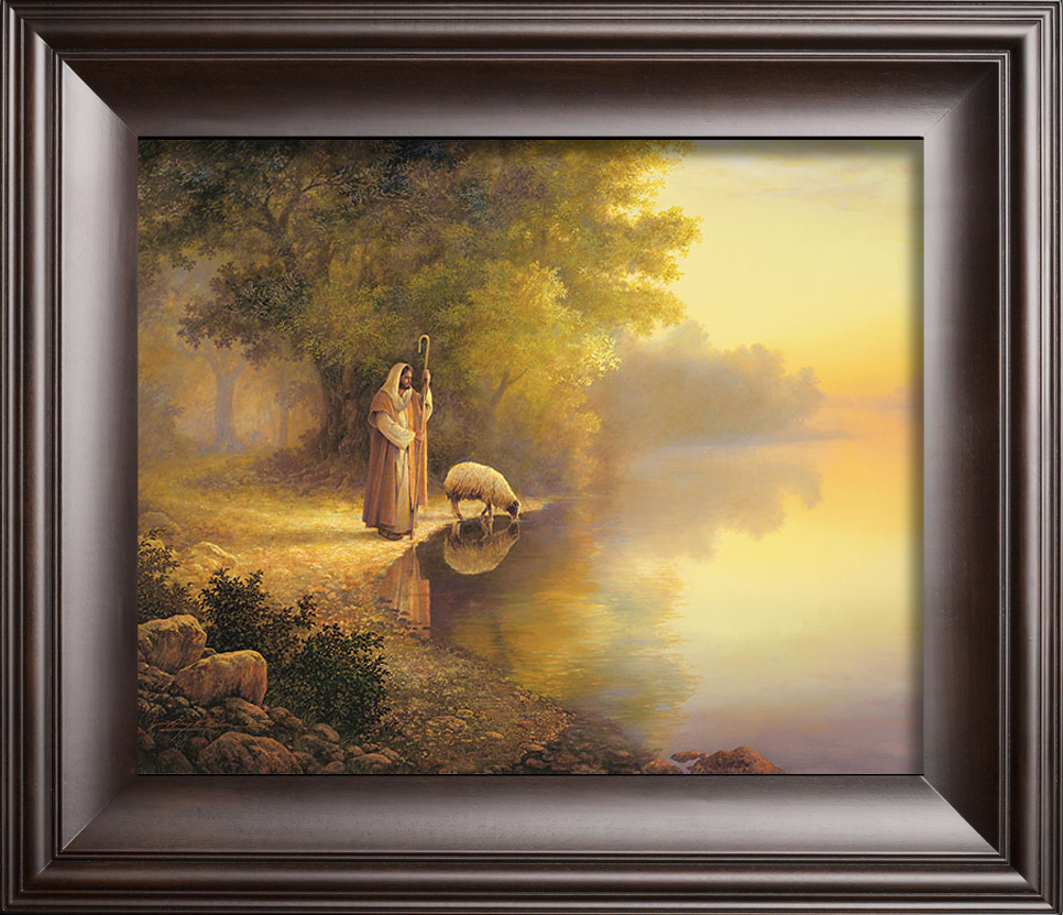 Enchanting Religious Framed Wall Art Embellishment - Art & Wall ...