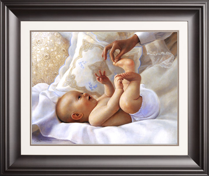 Heaven Sent – 16×20 Limited Edition Paper (950 S/N) Framed