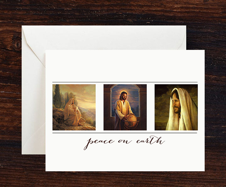Peace on earth greeting cards 10 pack greg olsen peace on earth greeting cards 10 m4hsunfo Images