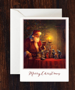 The Spirit of Christmas Greeting Card