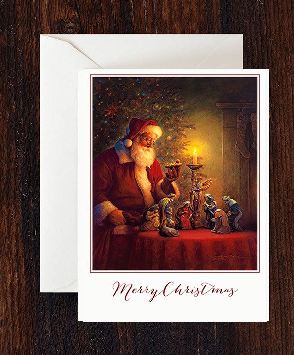 The Spirit of Christmas Greeting Cards – 10 pack