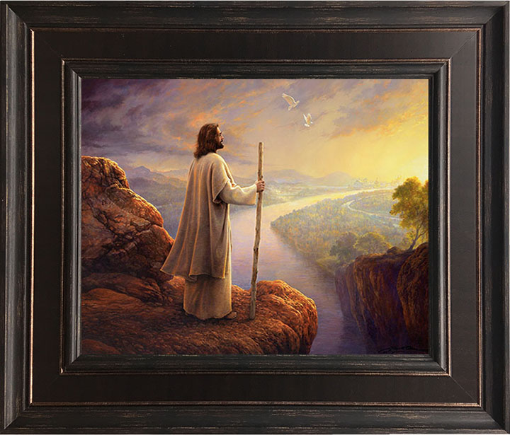 Hope on the Horizon – 24×28 Framed Art (SIGNED)