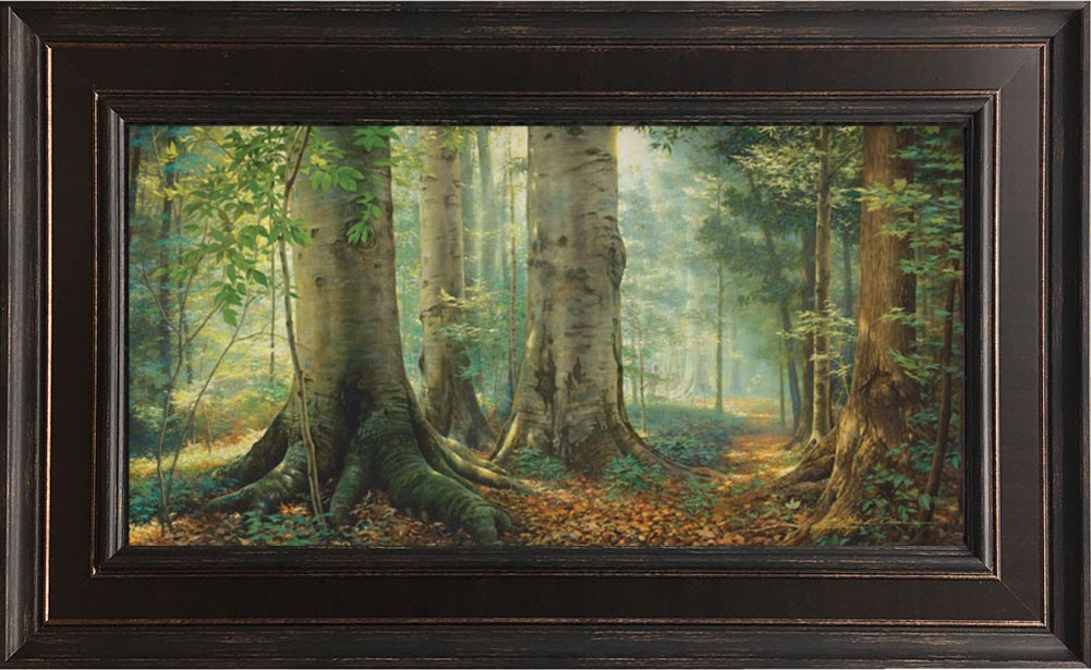 Sacred Grove – 19×30 Framed Art (SIGNED)