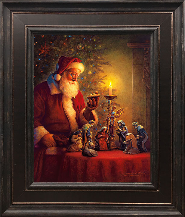The Spirit of Christmas – 24×28 Framed Art (SIGNED)