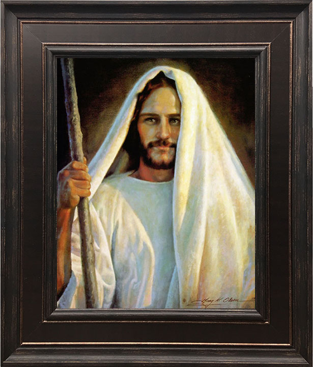 The Savior – 24×28 Framed Art (SIGNED)