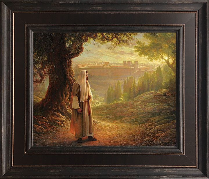 Wherever He Leads Me – 22×27 Framed Art (SIGNED)