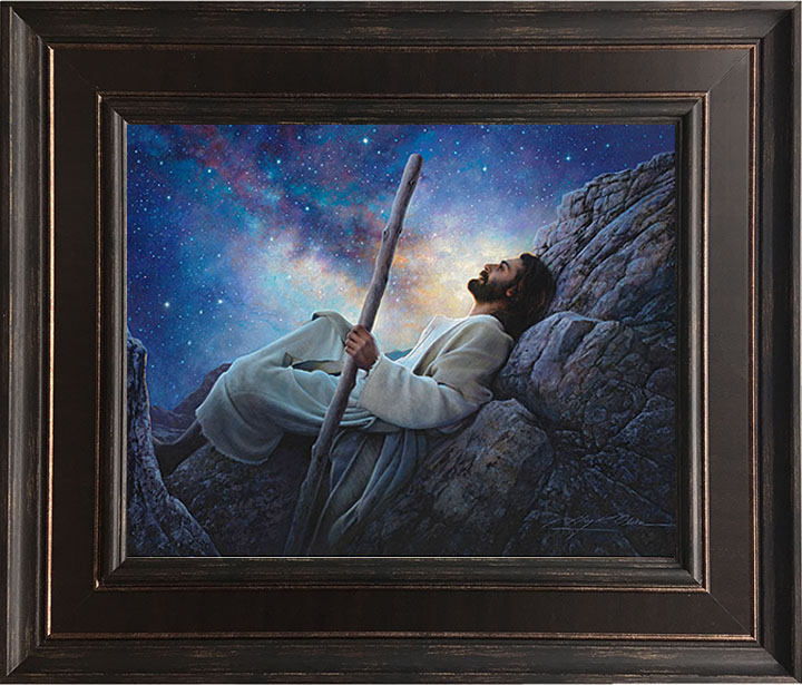 Worlds Without End – 24×28 Framed Art (SIGNED)