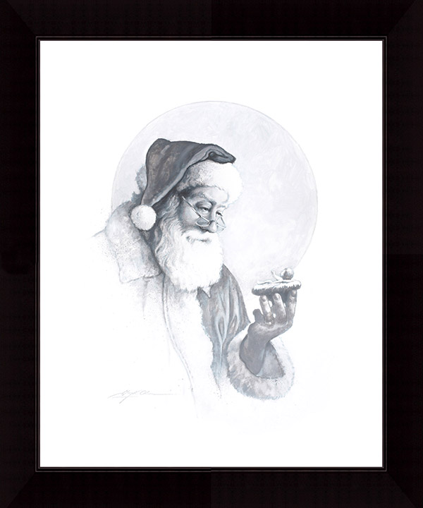 """Today's CHRISTMAS SPECIAL  – """"The Spirit of Christmas Vignette"""" 16×20 Framed Print (SIGNED!)"""