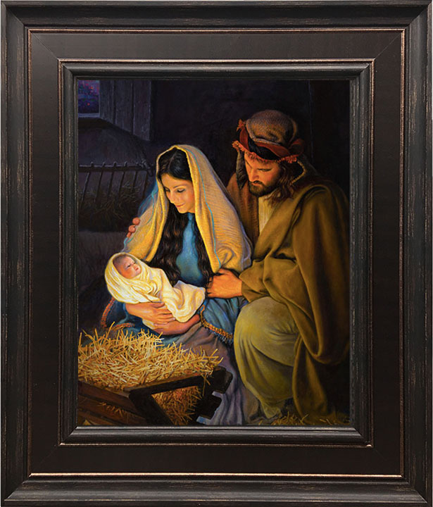 Holy Family – 24×28 Framed Art (SIGNED)