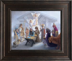 Away in a Manger - POLY